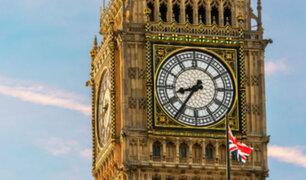 """Inglaterra: famoso """"Big Ben"""" dejará de sonar por cuatro años"""