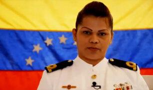 Venezuela: oficial de la Armada venezolana se declara en rebeldía contra Maduro