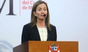 Marilú Martens se presenta ante la Comisión de Educación del Congreso