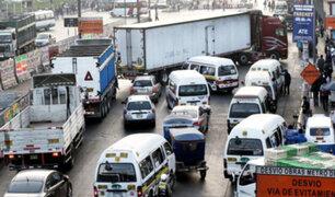 En el Perú 8 de cada 10 conductores manejan agresivamente