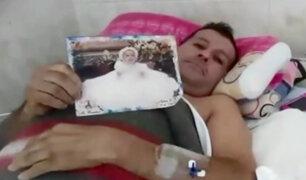 Venezolano que sufrió accidente en El Agustino ya cuenta con SIS