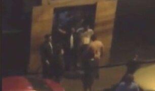 San Miguel: turba atacó a joven a la salida de discoteca para robarle