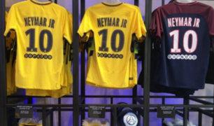 Neymar supera récord en venta de camisetas del PSG