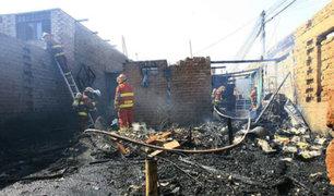 Callao: pared cae sobre bombero que atendía una emergencia