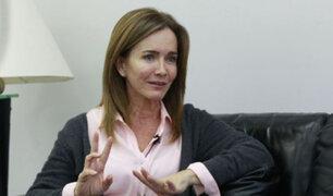 Fuerza Popular decidirá hoy si presentan censura contra ministra Martens