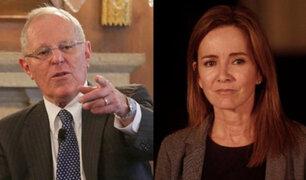 PPK respalda a ministra Martens frente a interpelación de Fuerza Popular