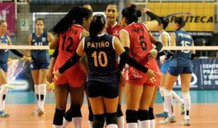 Perú venció a Venezuela 3-0 por la tercera jornada del Sudamericano de vóley