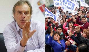 """Carlos Basombrío: """"Gobierno no dialogará con grupos vinculados al Movadef"""""""