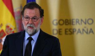 """Presidente del Gobierno español  convoca a """"un pacto antiterrorista"""""""