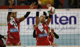 Perú venció 3-0 a Chile en el Sudamericano de vóley de mayores