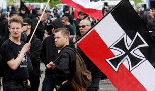 Alemania: arrestan a 39 personas en marcha de neonazis