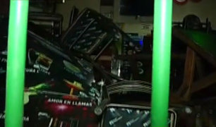 San Martín de Porres: sujetos se acuchillan al interior de una cantina