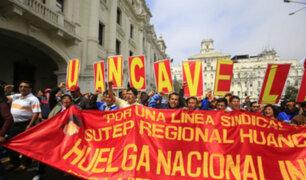 Huelga de maestros: desde hoy se aplicarán sanciones a docentes que no vuelvan a clases