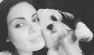 Georgette Cárdenas presenta orgullosa a sus mascotas