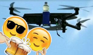 Esta empresa quiere comenzar a entregar bebidas vía drone [VIDEO]