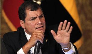 Ecuador: Rafael Correa arremete contra presidente Moreno