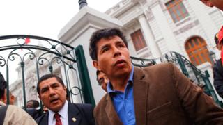 Congreso: Pedro Castillo y otros dirigentes del Sutep se reúnen con Fuerza Popular