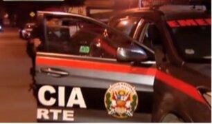 Investigan caso de policía agredido durante intervención en Comas