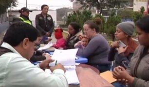 Gamarra: ciudadanos venezolanos solicitan ampliación del proceso de empadronamiento