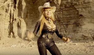 YouTube: La Tigresa del Oriente vuelve a incendiar las redes cantándole una ranchera a México [VIDEO]