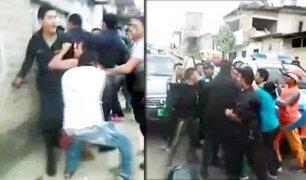 Tumbes: intervención policial terminó en violento enfrentamiento