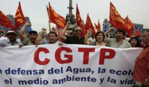 """CGTP busca plantear al presidente Martín Vizcarra una """"agenda laboral"""""""