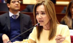 Congreso: ministra Martens respondió a pliego interpelatorio por más de 12 horas