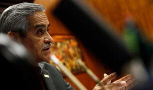 Presidente del PJ será citado al Congreso por el proceso de extradición de Toledo