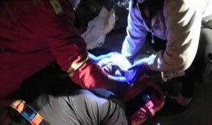 Comas: hombre sobrevive tras ser arrollado por vehículo