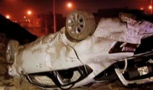 Cieneguilla: siete heridos tras caída de colectivo a un abismo