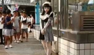 Lulu: La muñeca viva de extraña belleza que hipnotiza a los japoneses [VIDEO]