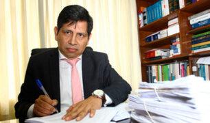 OCMA inicia proceso de investigación a juez Concha por demora en caso Ecoteva