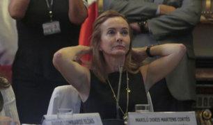Marilú Martens: interpelación a ministra de Educación será el viernes 8 de setiembre
