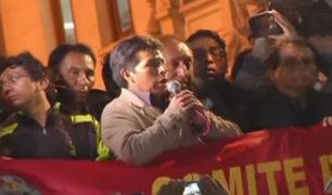 Dirigencia del Sutep critica a Pedro Castillo por su labor en la huelga magisterial