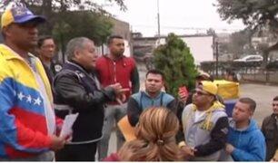Gamarra: culminó empadronamiento a venezolanos vendedores ambulantes