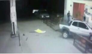 Cámaras de seguridad captan atropellos en provincia