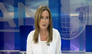 Ministra Martens: No renunciaré y estaré en la interpelación