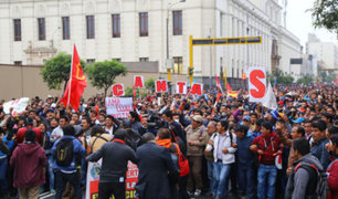 Encuesta de GFK revela qué piensan los peruanos de la huelga docente