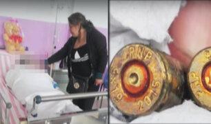 Niña de 11 años recibe una bala perdida en el Callao