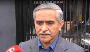 Presidente del Poder Judicial se pronuncia sobre investigación a juez Abel Concha