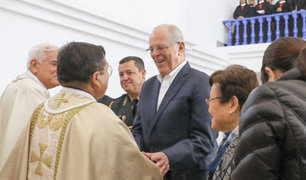 Pachacámac: PPK participa de inauguración de templo en Manchay