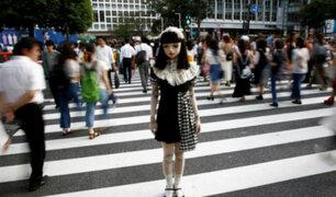 Japón: muñeca que pasea por las calles causa sorpresa