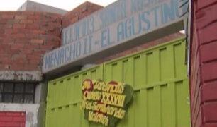 El Agustino: directora de colegio niega responsabilidad en fiesta de maestros