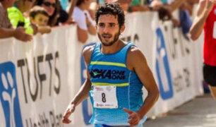 Atleta peruano David Torrence fallece tras sufrir un accidente en EEUU