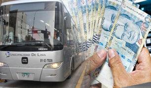 Protransporte busca a usuario que perdió 1,600 soles en bus del Metropolitano