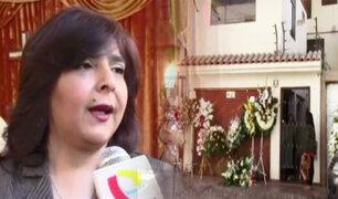 Ica: velan restos de madre de la exministra Ana Jara