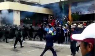 Huelga de maestros: continúan marchas en el interior del país