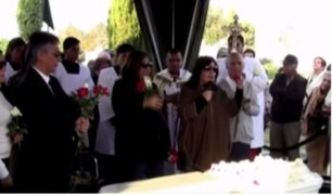 Ica: así fue el entierro de los restos de la madre de Ana Jara