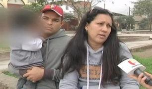 Padres venezolanos solicitan ayuda para el tratamiento médico de su menor hijo