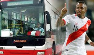 Buses del corredor Javier Prado darán servicio especial por el encuentro Perú vs Bolivia